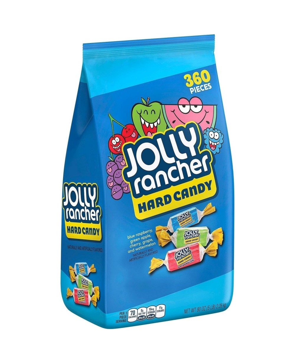 Jolly Rancher Hard Candy 5lb (2.26kg) - American Products