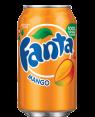 Fanta Mango Soda Can 12oz (355ml)