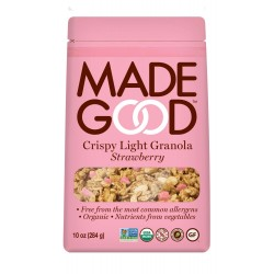 MadeGood Strawberry Crispy Light Granola 10oz (284g)