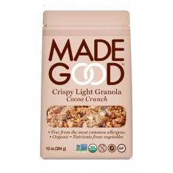 MadeGood Cocoa Crunch Crispy Light Granola 10oz (284g)