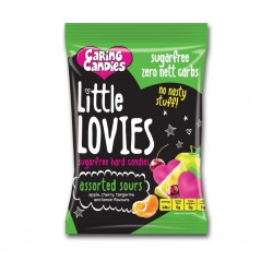 Caring Candies Little Lovies Assorted Sours 100g