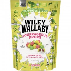 Wiley Wallaby Sourrageous Drops 6oz (170g)