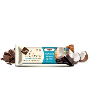 NuGo Slim Toasted Coconut x12