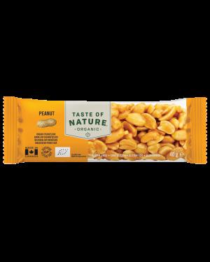 Taste of Nature Peanut Organic 40g x 16