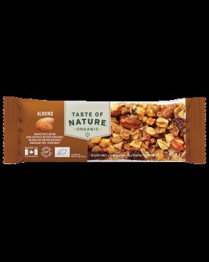 Taste of Nature Almond Organic 40g x 16