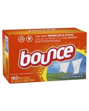 Bounce Dryer Sheet Outdoor Fresh 160 sheets