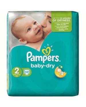 Pampers Mini Size 2 Nappies 33's