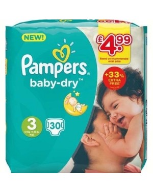 Pampers Size3 22's PM
