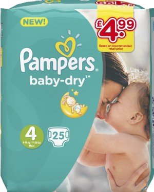 Pampers Size 4 20's PM