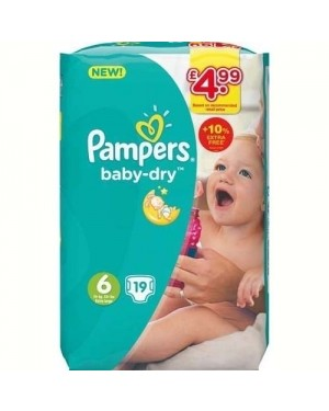 Pampers Size 6 17's PM