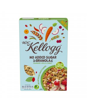 W.K. Kellogg No Added Sugar Granola Raspberry, Apple & Carrot 500g