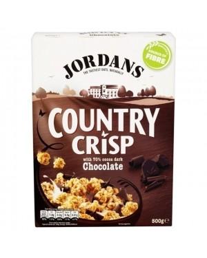 Jordans Dark Chocolate Country Crisp Clusters Cereal 500g