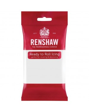 Renshaw White Ready to Roll Icing 1kg