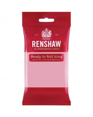 Renshaw Pink Ready to Roll Icing 250g