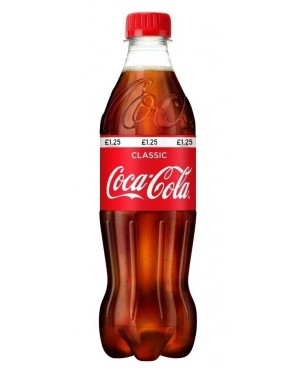 Coca Cola PM £1.25 24 x 500ml