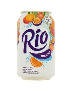 Rio Tropical Fruit Juice Drink 330ml