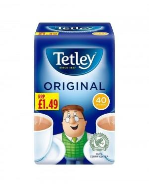 Tetley Tea Bags 40's PM
