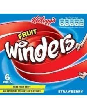 Kellogg's Winders Strawberry 6x17g