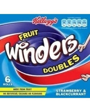 Kellogg's Winders Strawberry & Blackcurrent 6x17g