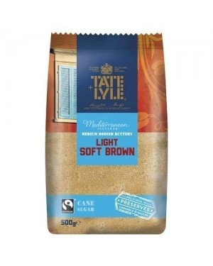 Tate & Lyle Light Brown sugar 500g