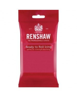 Renshaw Fuschia Pink Ready to Roll Icing 250g