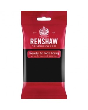 Renshaw Jet Black Ready to Roll Icing 250g