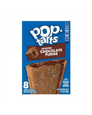 Kellogg's Pop Tarts Frosted Chocolate Fudge 13.5oz (384g)