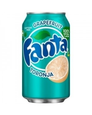 Fanta Grapefruit Soda Can 12oz (355ml)