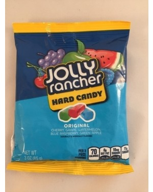 Jolly Rancher Peg Bag Hard Asstd 3oz (85g)