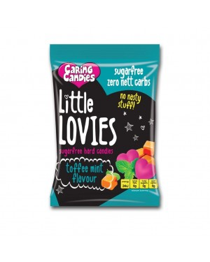 Caring Candies Little Lovies Toffee Mint 100g