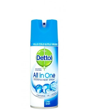Dettol All In One Disinfectant Spray Linen 400ml