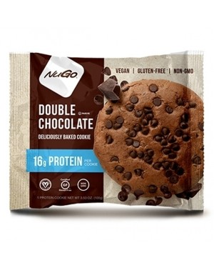 Nugo Protein Cookie Double Chocolate pack of 12