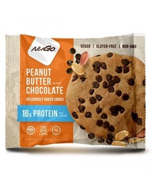 Nugo Protein Cookie Peanut Butter Chocolate pack of  12