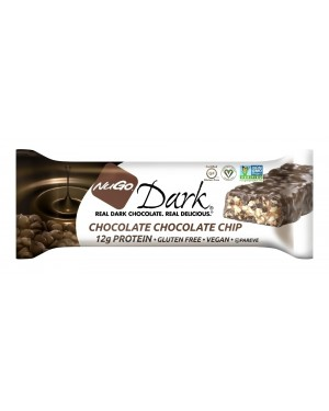 NuGo Dark Chocolate Chocolate Chip x12