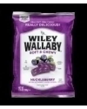 Wiley Wallaby Huckleberry Liquorice 7.05oz x 12
