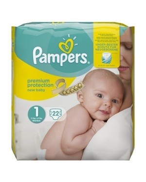 Pampers New Baby Size 1 22's