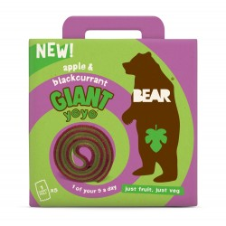 Bear Giant Yoyo Multipack Apple & Blackcurrant (5 x 20g)