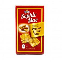 Sophie Mae Peanut Butter Brittle Bites 3.25oz (92g)