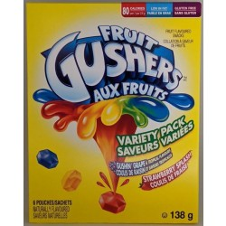 Gushers Variety Pack 138g