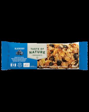 Taste of Nature Blueberry Organic 40g x 16