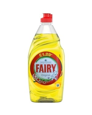 Fairy Washing Up Liquid Lemon 433ml PM