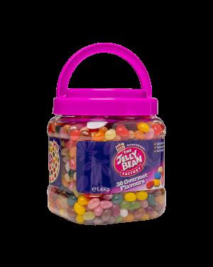 Jelly Bean Acrylic Jar 1.4Kg