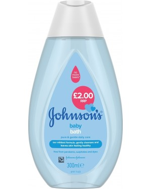 Johnsons Baby Bath 300ml PM £2.00