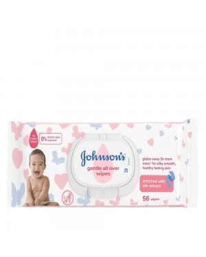 Johnsons Baby Skincare Wipes 56's