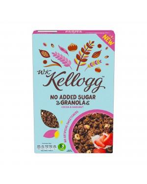W.K. Kellogg No Added Sugar Granola Cocoa & Hazelnut 550g