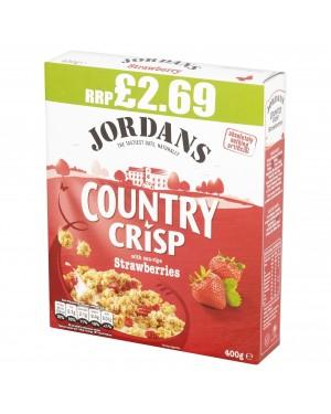 Jordans Country Crisp Strawberry PM 400g