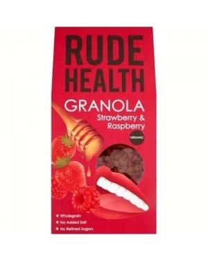 Rude Health Strawberry & Raspberry Granola 450g RRP £5.99