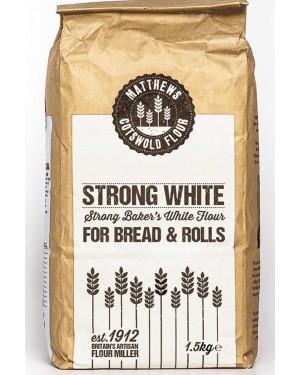 Matthews Cotswold Strong White Flour 1.5kg