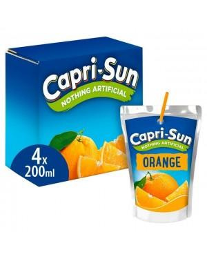Capri Sun Orange 4PK 200ml