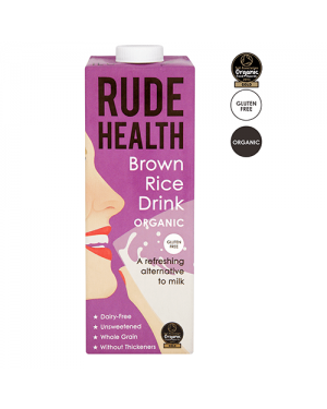 Rude Health Brown Rice Drink 1L
